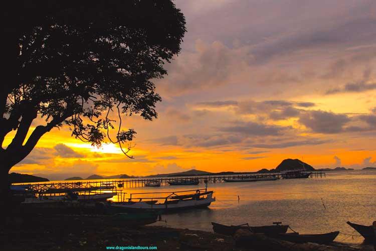 Komodo Sunset